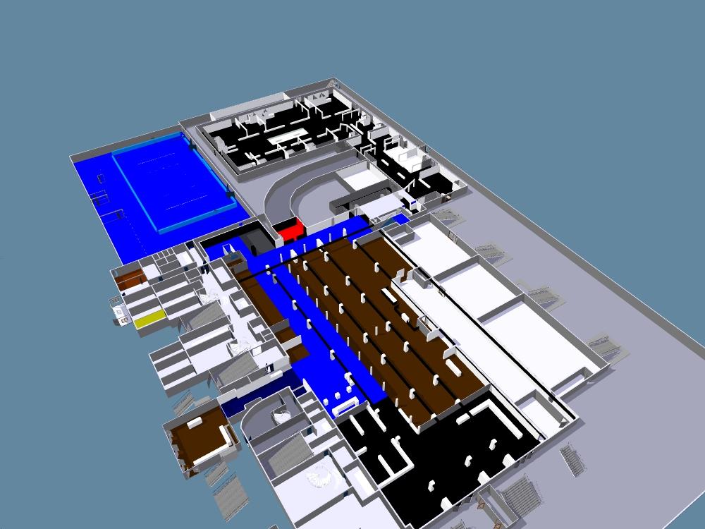 OPEN 13 2013 - 21.12.2012 -Vue générale 3D avec couleurs
